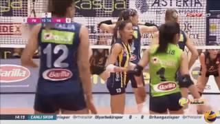 fenerbahce vs vakifbank   4 dec 2016   turkish women s volleyball league 2016 2017