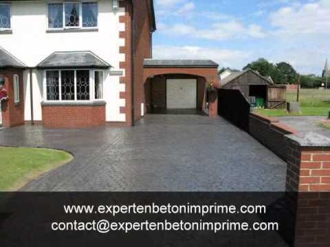 Beton imprime dijon 0637050635 youtube for Dijon beton tarif