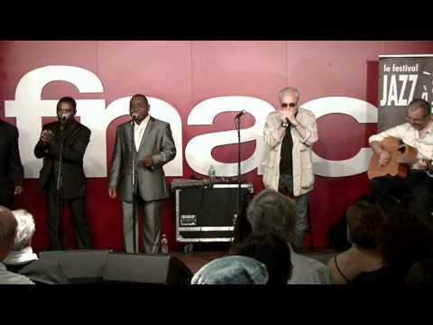 Mini-concert de Jean-Jacques Milteau et les Palata Singers