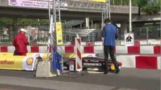 Megameter III. Shell Eco-marathon 2012 Rotterdam - KF GAMF Team