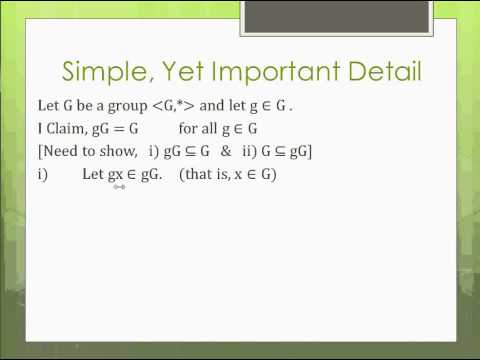Modern Algebra (Abstract Algebra) Made Easy - Part 9 - Factor (Quotient) Groups