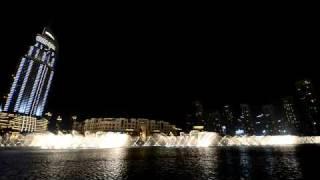 Dubai Fountain: Enta Omri (Hossam Ramzy)