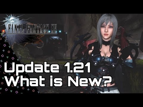 FINAL FANTASY 15! Patch 1.21 What is New? Aranea Fight & Iggy Costume!