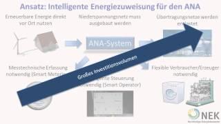 Thema 2: Autonomes Niederspannungsnetz Agent (ANA)