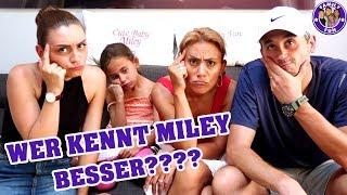 Wer kennt Miley besser? Lieblingssong? | Family Fun