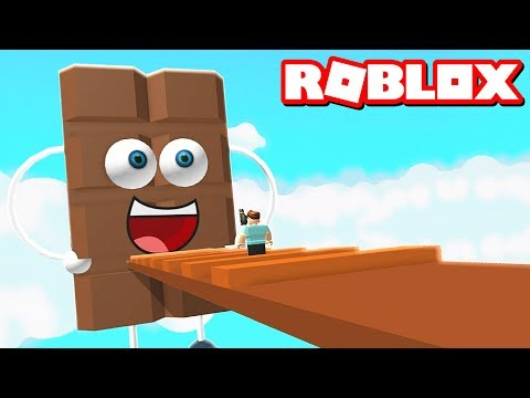 ESCAPE THE CHOCOLATE OBBY IN ROBLOX