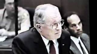 F. Lee Bailey CROSS-EXAMINES a witness