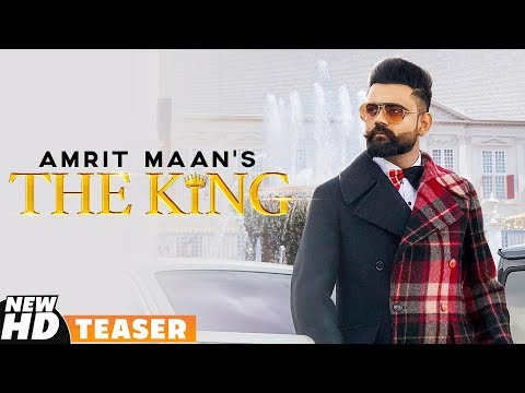 Teaser  The King  Amrit Maan  Releasing On 18th Sept 2019  Speed Records