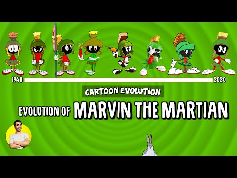 Evolution of MARVIN THE MARTIAN - 72 Years Explained   CARTOON EVOLUTION