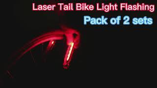 VASTFRIE Rear Bike Lights
