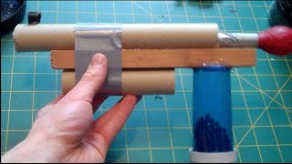 How To Make A Powerful Bb Gun - Easy