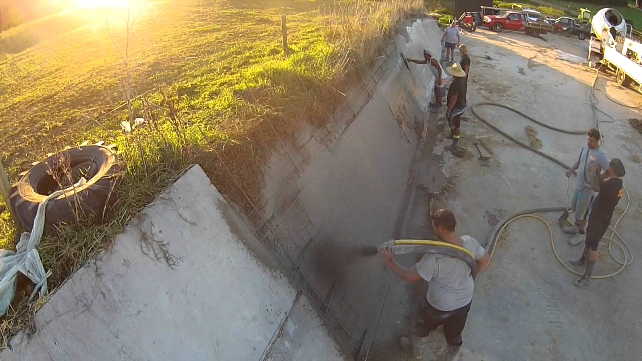 Silage Pit Walls Youtube
