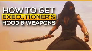How to get Executioner's Items | CONAN EXILES / Conan exiles