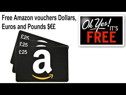 How to get amazon vouchers for free