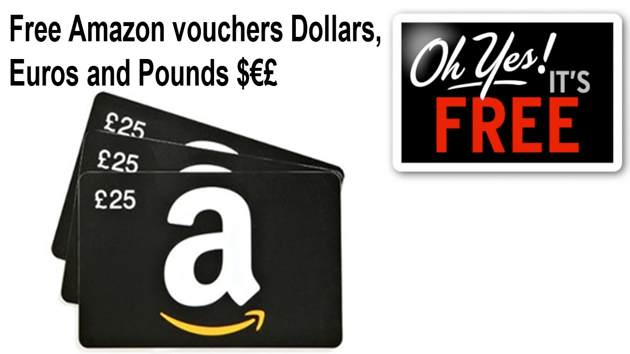 How To Get Amazon Vouchers For Free Youtube