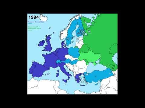 Unions: European Union, Warsaw Pact and the Commonwealth of Independent States