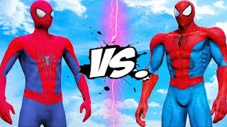 THE AMAZING SPIDER-MAN VS SPIDERMAN MUSCLE