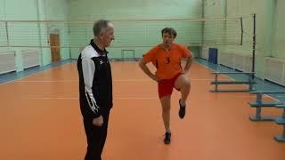 Các bài tập giúp bật cao trong bóng chuyền (phương pháp của HLV Nga)