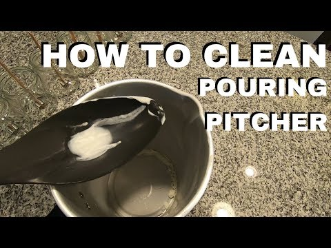 How To Clean Your Pouring Pitcher Or Melting Pot