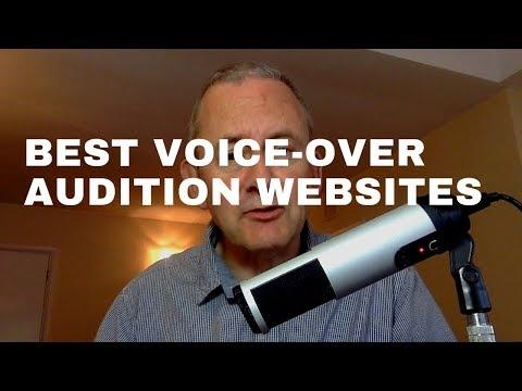 Best Voice-Over Audition Websites