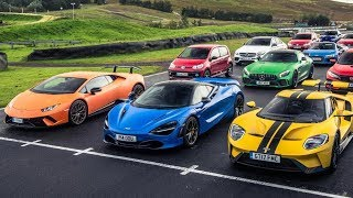 The Final 7 Cars | Performance Car of the Year 2017 | Top Gear