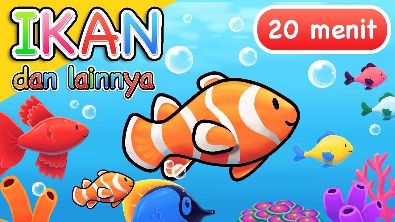 Lagu Anak | Ikan dan Lainnya | 20 Menit