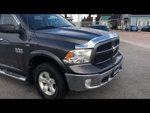 Ram 1500 Outdoorsman 2014 Garantie prolongé Plan Or 115 000km/2020