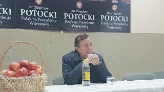Spotkanie z Prezydentem IIRP Jan Zbigniew Potocki odnośnie sytuacji rolników