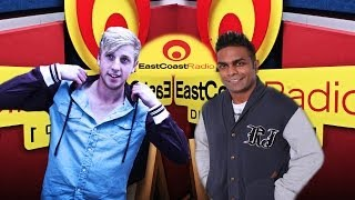Jono Grayson @ East Coast Radio, Deon Govender