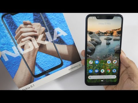 Nokia 8 1 Unboxing Overview with Camera Samples Retail Unit