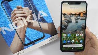 Nokia 8.1 Unboxing & Overview with Camera Samples (Retail Unit)
