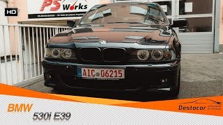 Установили M Paket и новый радиатор на BMW 530i E39