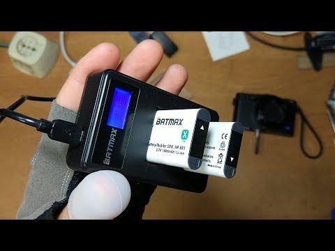 Тест-обзор аккумуляторов NP-BX1 и зарядного устройства для SONY DSC-RX100, FDR-X3000 с Aliexspress