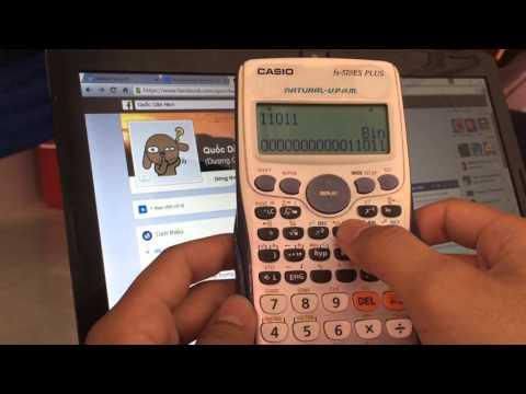 QD - Hướng Dẫn Chuyển Đổi Các Hệ Cơ Số Bằng Máy Tính Casio Fx-570es Plus
