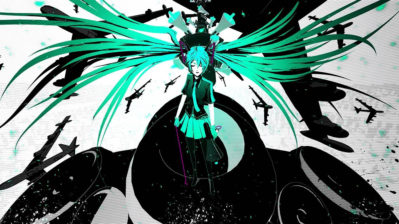 初音ミク Hatsune Miku Love Is War Future Retro Remix Youtube