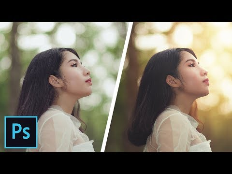 How to Create Dramatic Backlight Effect in Photoshop
