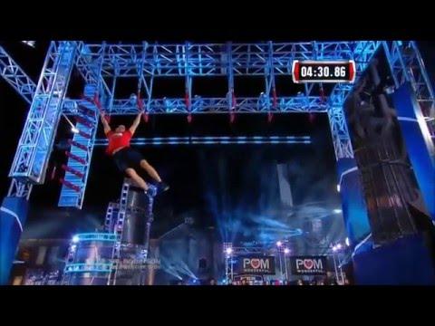 Pavel Fesyuk - American Ninja Warrior Compilation History Vid & Vegas 2015 Stage 4 Finals