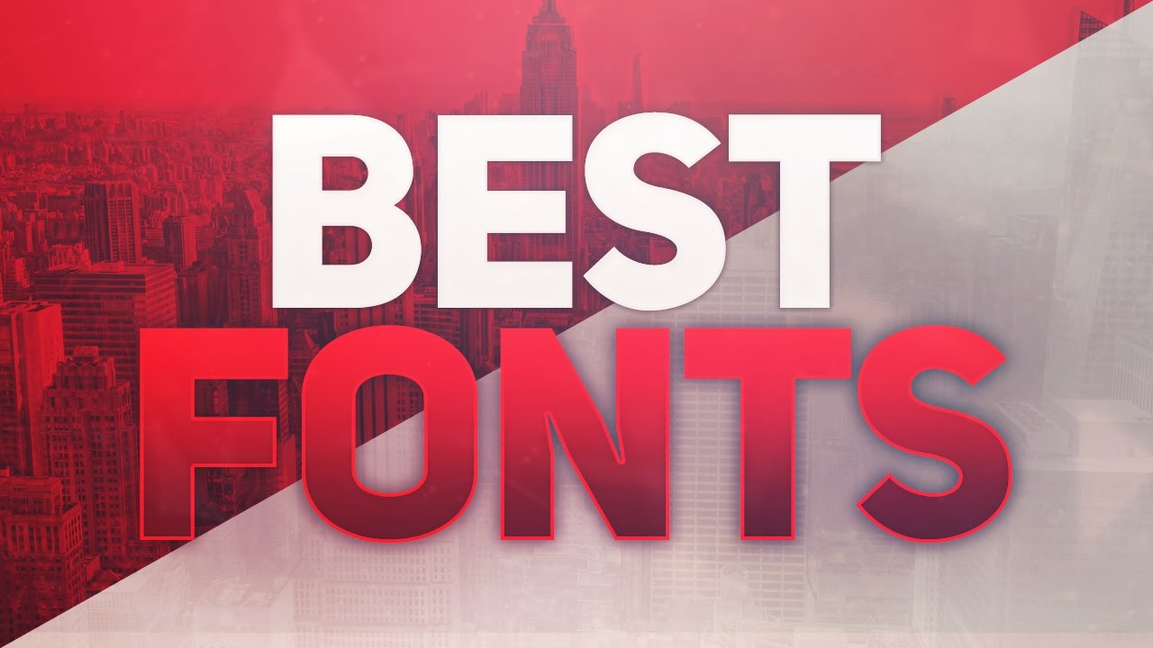 BEST FONTS FOR GFX DESIGNERS / GRAPHIC DESIGN /DESIGNING ! (100+ ...