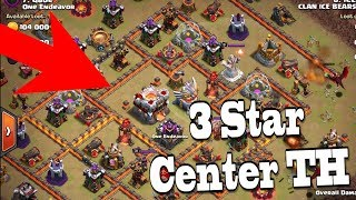 How to 3 Star Center TH11 Bases! | Clash of Clans Internet Base and Anti 2 Star