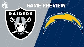 Raiders vs. Chargers | NFL NOW | Week 15 Previews