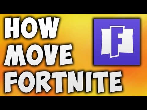 How To Move Fortnite To Another Drive | Copy Fortnite To Another Drive (100% WORKING)