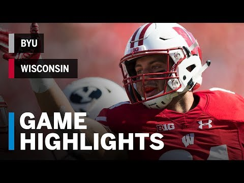 Highlights: BYU vs. Wisconsin | Big Ten Football