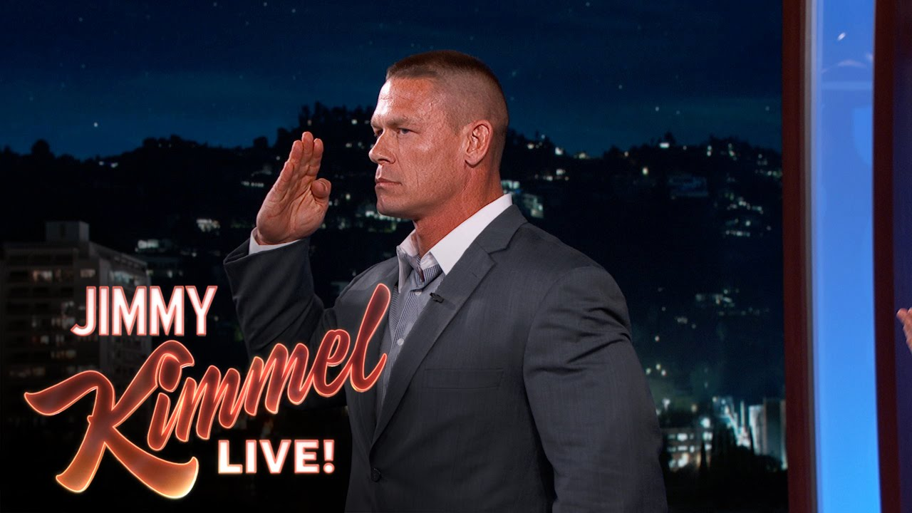 John Cena Fights for America - John explains what he's been doing to prepare for a fight against a man who will be representing Russia.