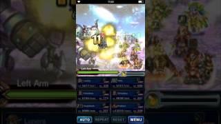 Brave Exvius Global - Cheesing Aig... Wait, Tanking Aigaion?!?!?