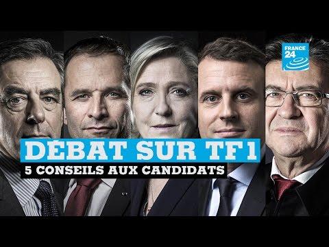 90''POLITIQUE - Débat sur TF1 : 5 conseils aux candidats pour éviter les bourdes