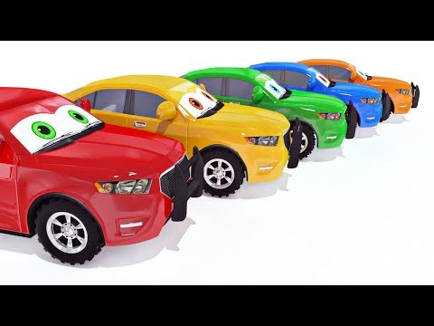 appMink Police Car | Monster Truck  Make Over | Police Helicopter | School bus | Kids Learn ABC