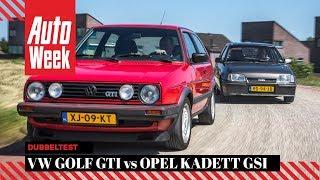 Volkswagen Golf II GTI vs Opel Kadett GSi - Classics dubbeltest