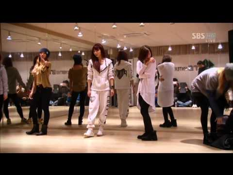 121229 SBS 歌謠大戰 Dazzling Red 中字 cut