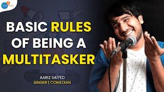 3 Tips on How to be Productive | Aariz Saiyed | Josh Talks