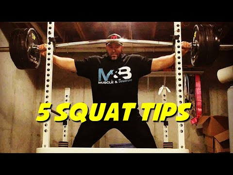 5 Powerful TIPS to Help You SQUAT Better
